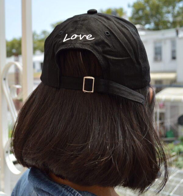 Black Love finger hat for kpop