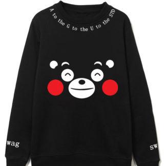 BTS Kumamon sweater for kpop
