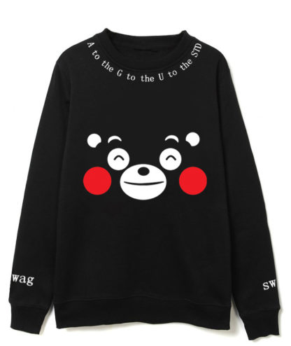 BTS Kumamon sweater for kpop