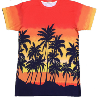 BTS Suga Palm Trees t-shirt