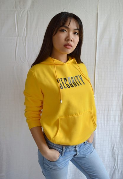 Very Kpop RM Security hoodie yellow