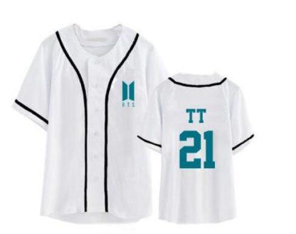 BTS baseball shirt