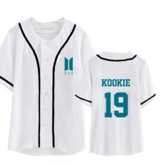 BTS baseball shirt