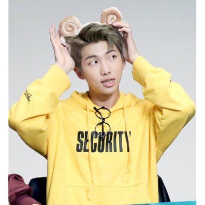 BTS Rap Monster Security hoodie
