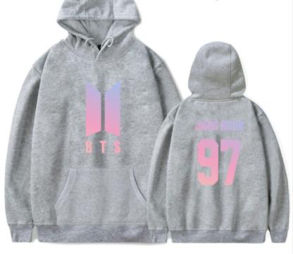 BTS love yourself Jungkook hoodie for kpop