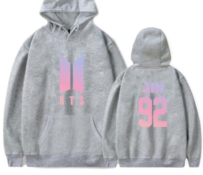 BTS love yourself Jin hoodie for kpop