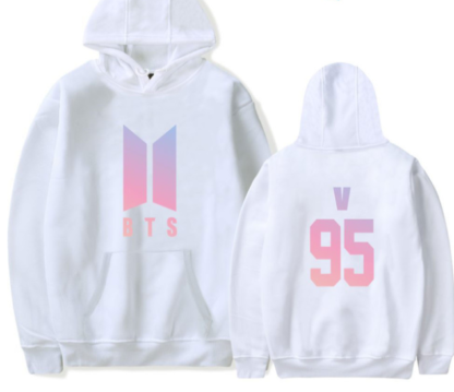 BTS love yourself V hoodie for kpop