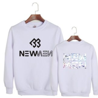 BTOB white sweater for new men song