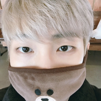 BTS Rapmonster bear mask