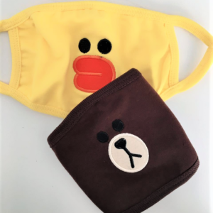 BTS duck and bear masks
