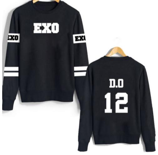 Exo suéter D.O. de manga larga