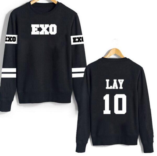 EXO de manga larga Suéter laicos