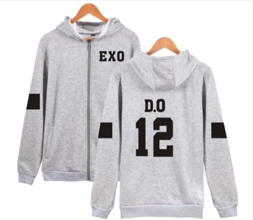 EXO DO zipper hoodie verykpop