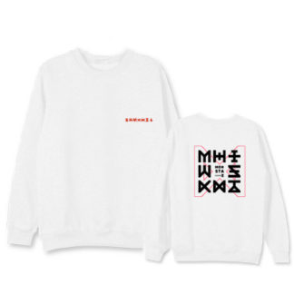 monstax sweater in white