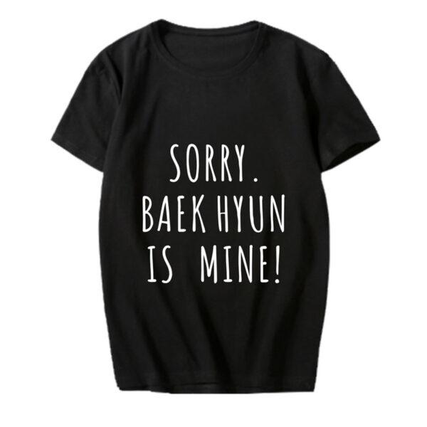 exo baekhyun ist mein Hemd in schwarz
