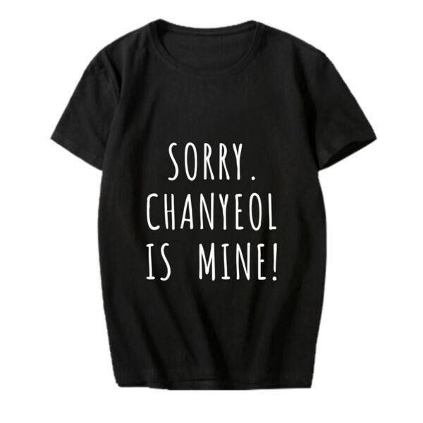 exo chanyeol ist mein Hemd in schwarz