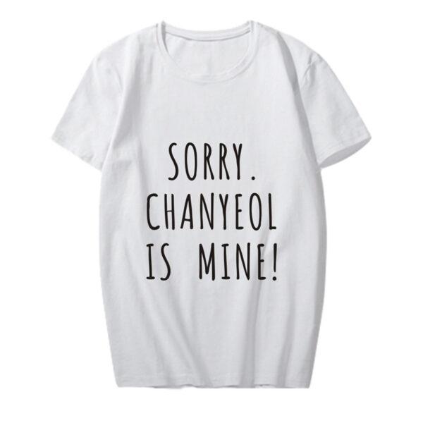 exo chanyeol ist mein Hemd in weiß
