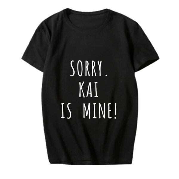exo kai ist mein Hemd in schwarz