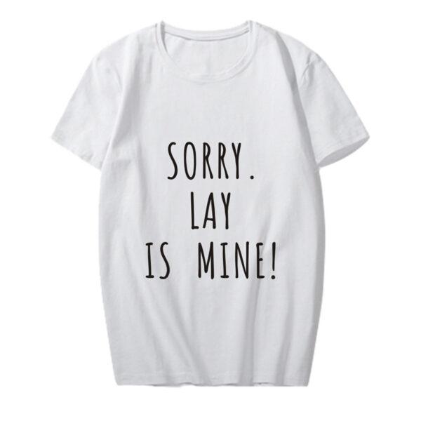 exo lay ist mein Hemd in weiß