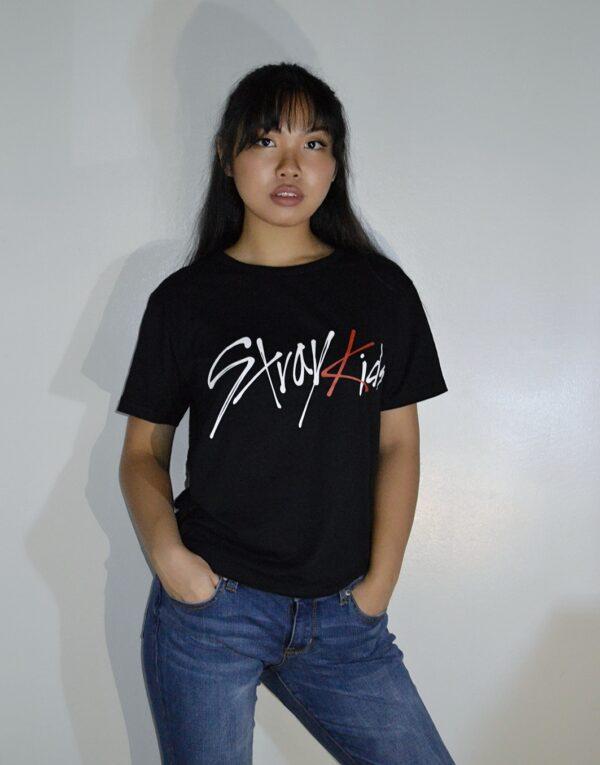 Stray Kids t-shirt in black