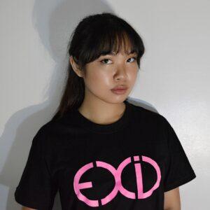 EXID T-shirt in schwarz