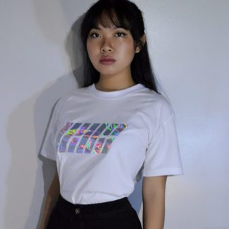 IKON Holographic White T-shirt Very Kpop Shop