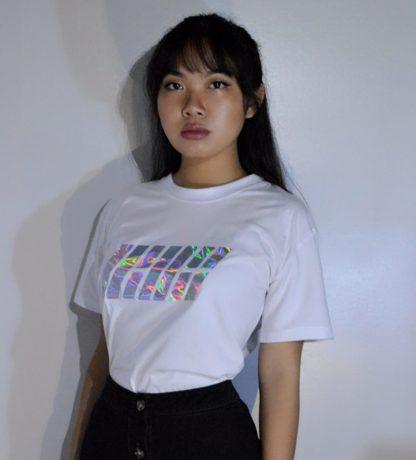 IKON Holographic White T-shirt Very Kpop Shop