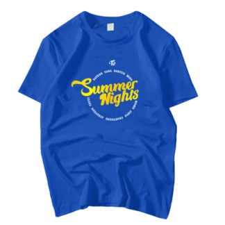 TWICE Summer Nights Blue T-shirt