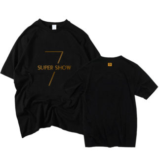 Super Junior Super Show 7 Black T-shirt