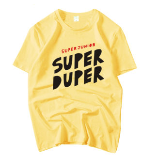 Super Junior Super Duper Yellow T-shirt