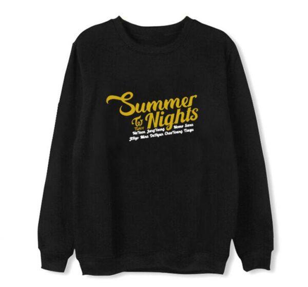 Twice Summer Nights sweater in black