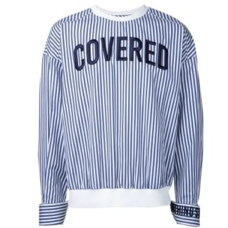Jungkook striped Covered sweater