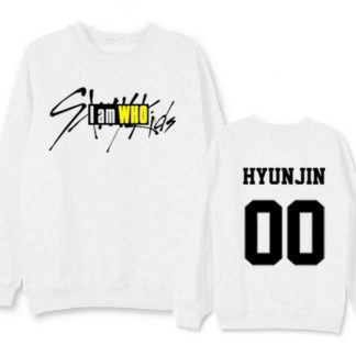 Stray Kids I am Who Hyunjin sweater in black