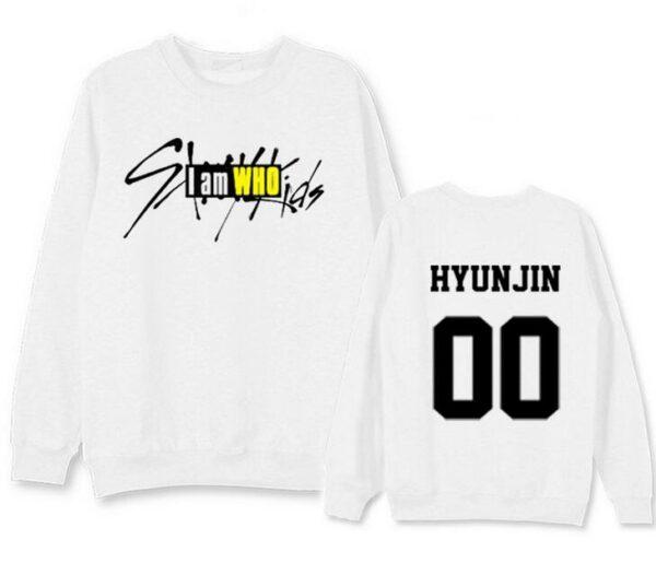 Stray Kids I am Who Hyunjin sweater in black