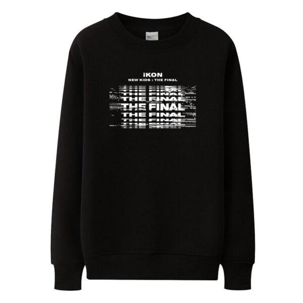 iKON New Kids : Le pull final en noir