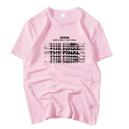 iKON New Kids : Das letzte Tshirt in pink