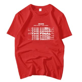 iKON New Kids : The Final tshirt in red