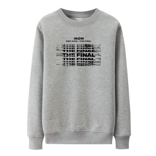 iKON New Kids : Le pull final en gris