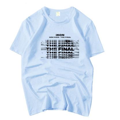 iKON New Kids : Le t-shirt Final en bleu