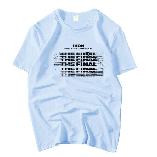 iKON New Kids : La camiseta final en azul
