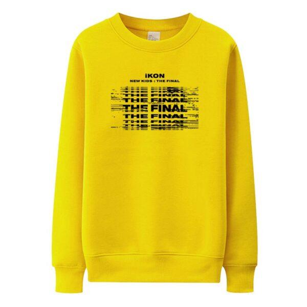 iKON New Kids : Le pull final en jaune