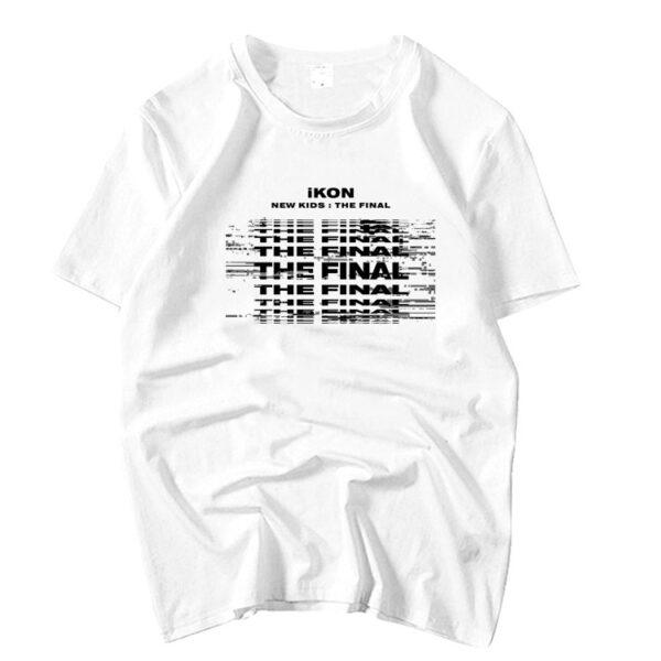iKON New Kids : La camiseta final en blanco