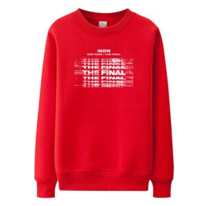 iKON New Kids : The Final sweater in red