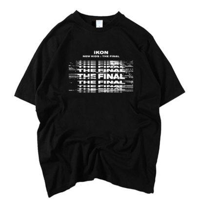 iKON New Kids : Le t-shirt Final en noir