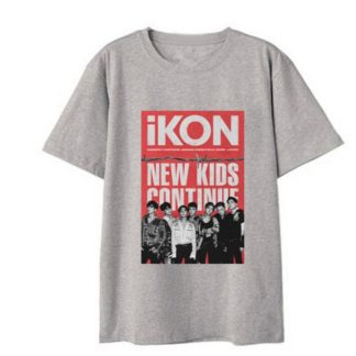 iKON New Kids : Continue tshirt in grey