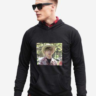 BTS Bon Voyage Jungkook meme hoodie in black