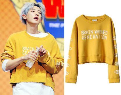 Chanyeol's Brainwashed Generation sweater