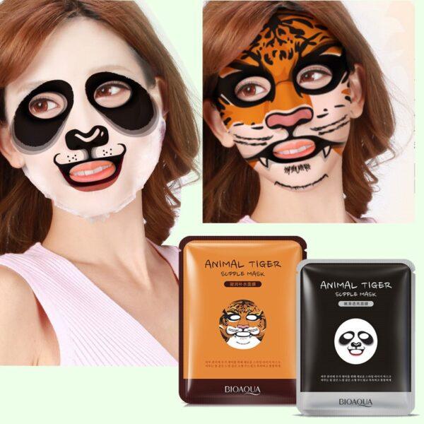 Very Kpop Animal Face mask moisturizing tiger
