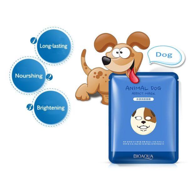 Très Kpop Animal Face masque hydratant chien