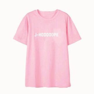 BTS J-hoooooope shirt in pink